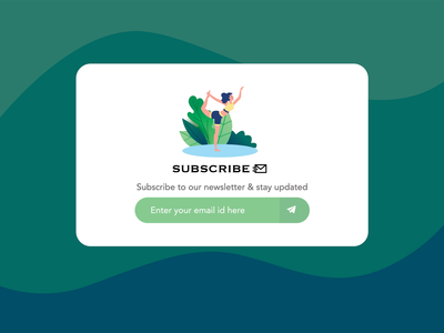 Day 026 - Subscribe - Daily UI Design Challenge