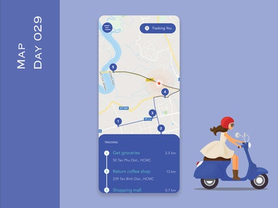 Day 029 - Map - Daily UI Design Challenge