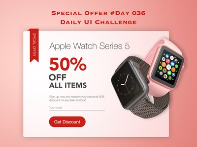Day 036 - Special Offer - Daily UI Design