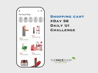 Day 058 - Shopping Cart - Daily UI Design Challenge