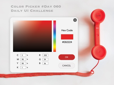 Day 060 - Color Picker - Daily UI Design Challenge