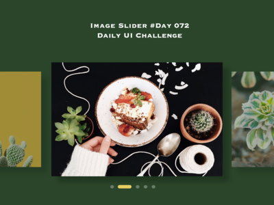 Day 072 - Image Slider - Daily UI challenge