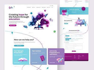 3elm Website website design ui ux