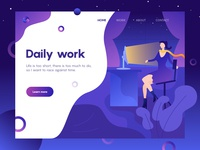 Daily work illustrations