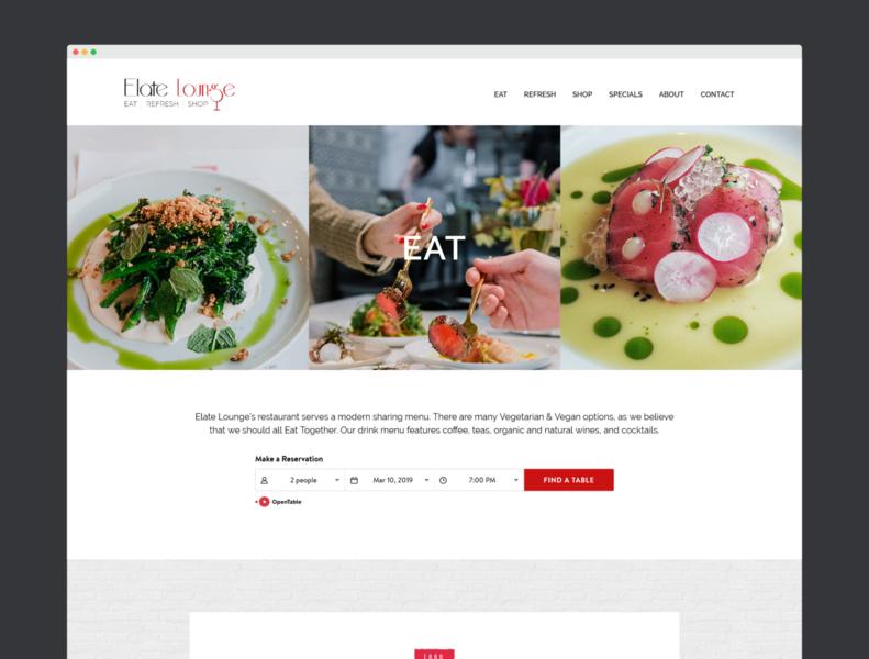 EL Website Design website