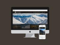 Heli-Skiing Website Design