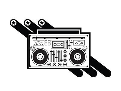 Boom box boom box illustration agency vector vector artwork illustration design boombox illustration