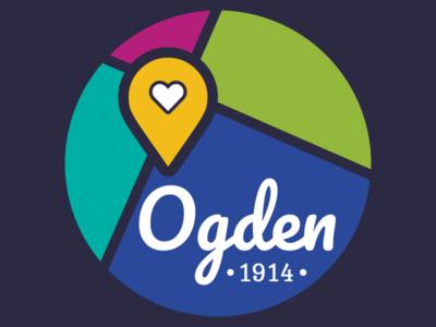 Ogden1914 Branding logo flat design logomark identity branding