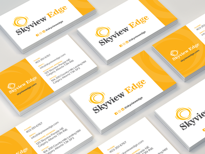 Business Card Design yellow print design business cards design business cards print flat design