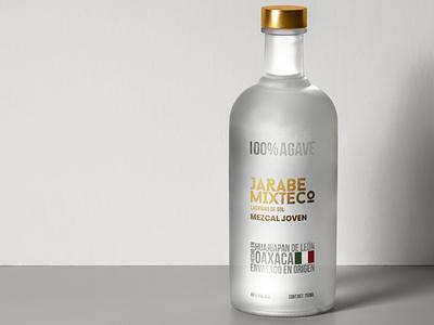 Jarabe Mixteco package mockup labeling design package logo logo design branding agave oaxaca jarabe mixteco mexico beverages spirits mezcal