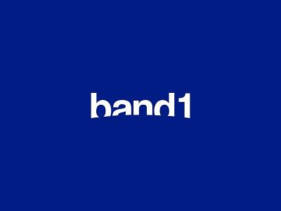 band 1 logo branding