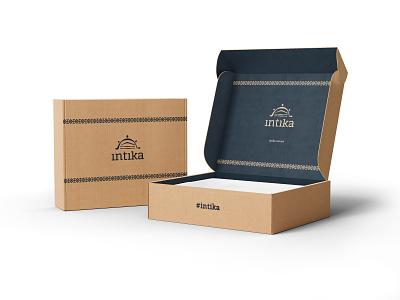INTIKA Branding & Packaging package mockup package package design logo design logo design branding