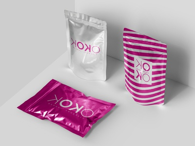 KOKO Reveal Yourself Branding package logo package mockup package design logo design design branding