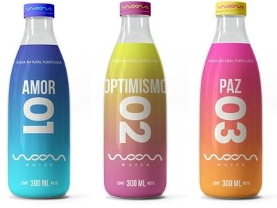 woom water naming logo design package design package logo design branding