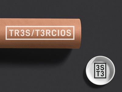 3ST3 - Tres Tercios naming design logo design logo branding