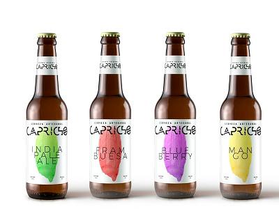 CAPRICHO beer package design package design logo design logo branding