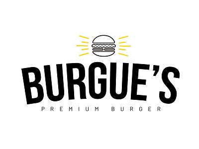BURGUE'S Premium Beer logo design design logo branding