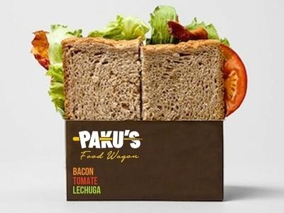 PAKU'S Food Wagon labeling package design package logo design design logo branding