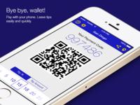 Mobile Wallet app (iOS 7 version)