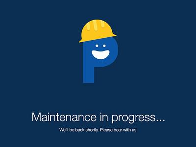 Maintenance in progress... maintenance down downtime 404 illustration