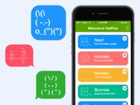 TextPics app