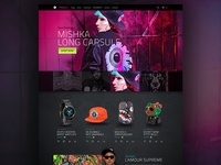 Mishka Website Redesign