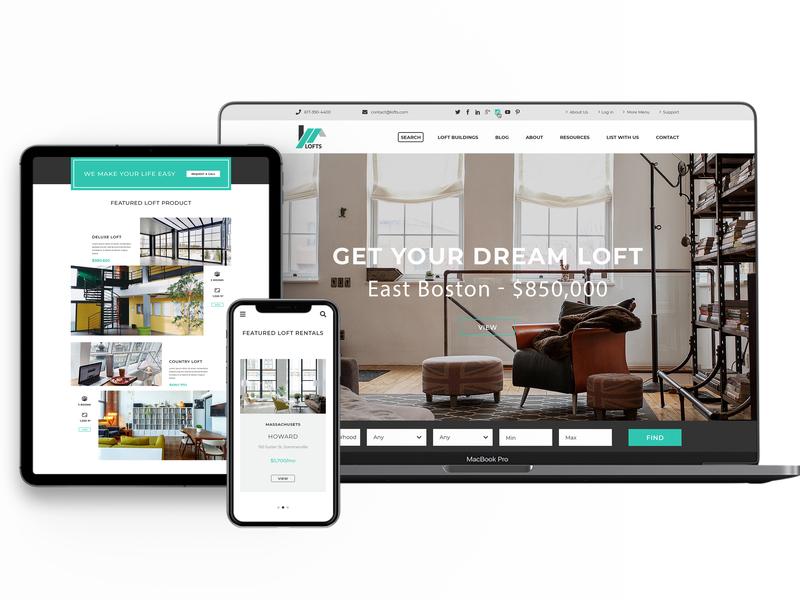 Website Agentie Imobiliara wordpress branding web design