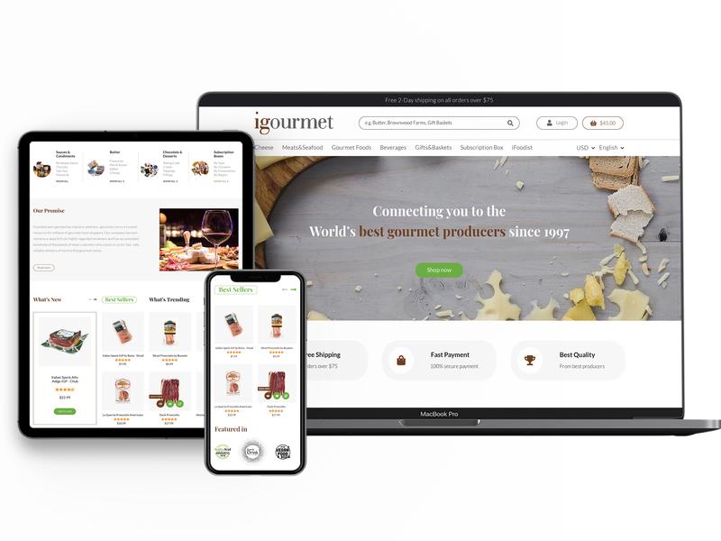 Magazin Online Produse Alimentare woocomerce branding ecommerce shop web design
