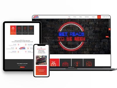 Website Firma Publicitate wordpress branding web design