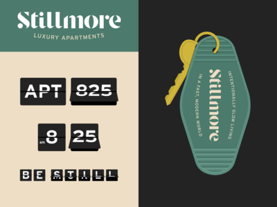Stillmore Retro-Inspired Branding