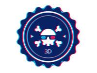 Pirates gone 3D badge