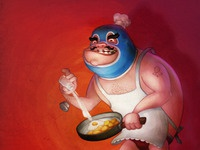 Jacques the masked chef