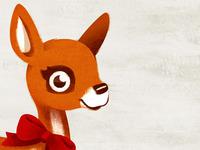 little deer - close up