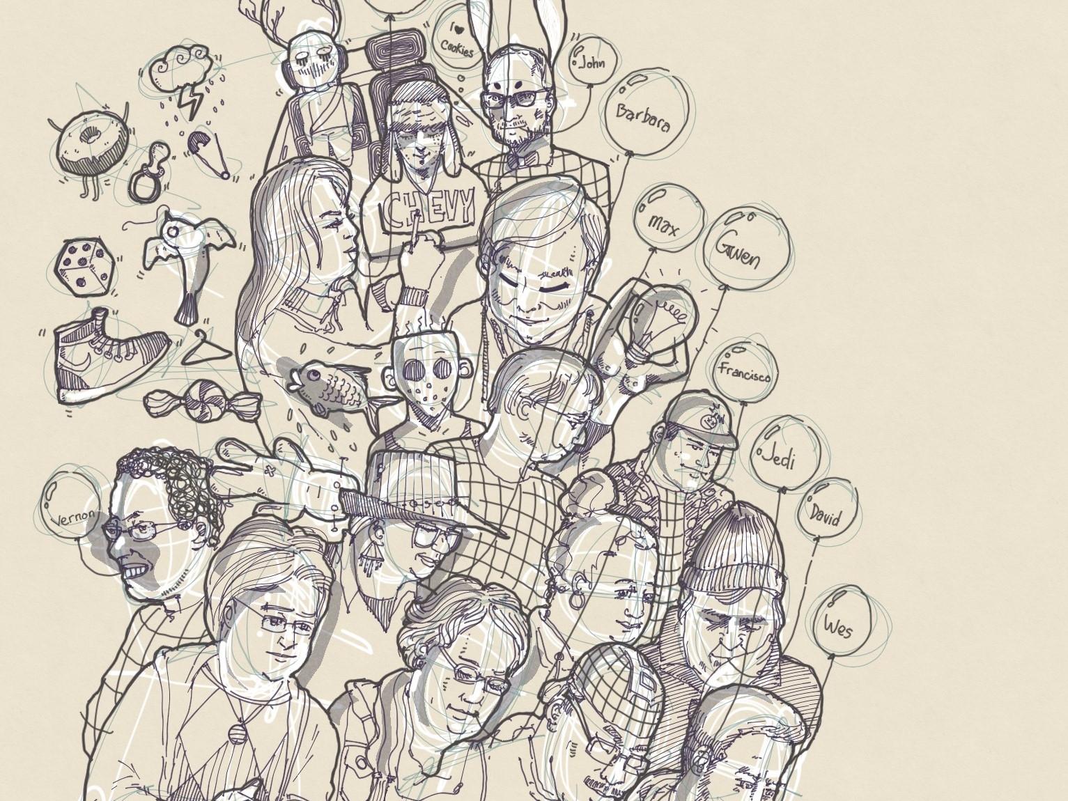 Img 1285 vector dribbble artist drawing concept procreate creative sketch illustration digital design art