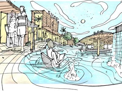Shopping Area Concept