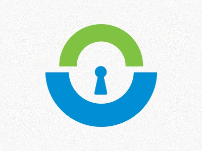Lock lock blue green happy smile protect protection