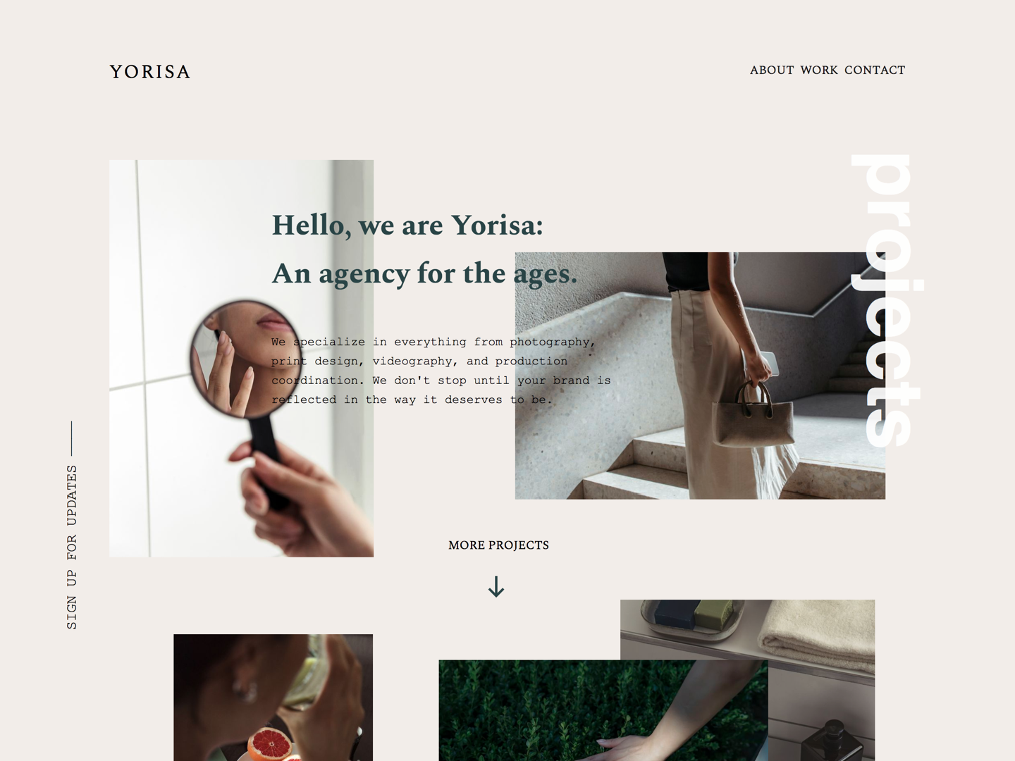 First PageCloud Project ui design landing page agency web design home page craftedwithpagecloud