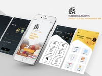 KidZone App Mobile UI Design