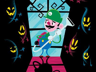 Luigi's Mansion character design gamecube videogames book ghost nintendo mario luigi