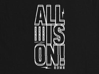 ALLISON POP PUNK! font type pop punk band punk music music punk pop print vector texture typography tshirt design tees design tshirt merch design merch clothing apparel