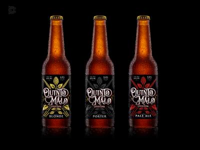 Quinto Malo label design