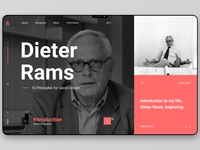 Dieter Rams - Introduction
