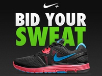 Nike - Bid Your Sweat