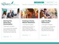 The Signatry website