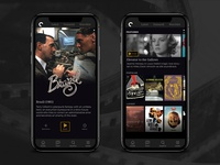 The Criterion Channel: Mobile Site