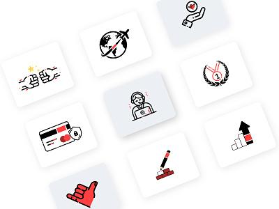 BJJ icons jiu jitsu icons bjj icons jiu jitsu bjj custom icons icon design icons icon set vector branding design