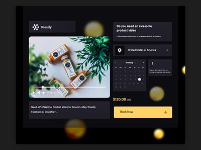Klosify Platofrm schedule website design book calendar dashboard web design webdesign