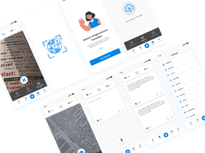 translation app ios ux app ui app ui app design icon ui web ios guide android translation service app design translation