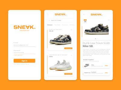 Sneaker App | SNEAK