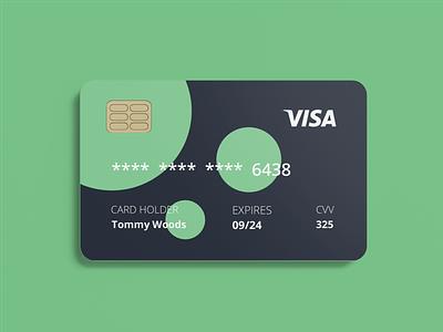 Credit card design minimal graphicdesign graphicdesigner illustration typography flat dribbble designinspiration design branding